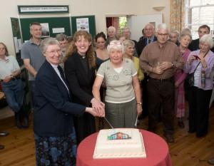 Hub opens Rosemary Davies & Emma Pennington