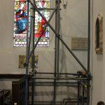 North transept scaffolding