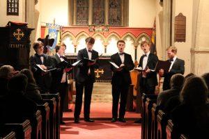 Men of Magdalen concert