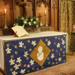 Christmas altar frontal
