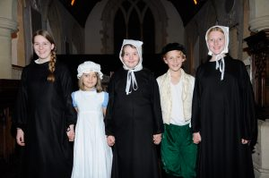 Junior members of the cast