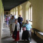 Magdalen cloisters